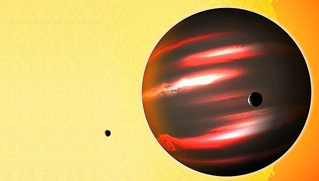 17. Tres-2b - Kömürden daha koyu bir gezegen