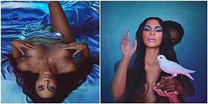 Kim Kardashian Poses Naked for Her New Make-Up Advert!