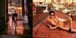Nudity On The Run! Playboy Model Poses Naked At The One And Only Hagia Sophia!
