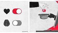 Немецкий художник создает иллюстрации, которые в большей или меньшей степени касаются каждого из нас