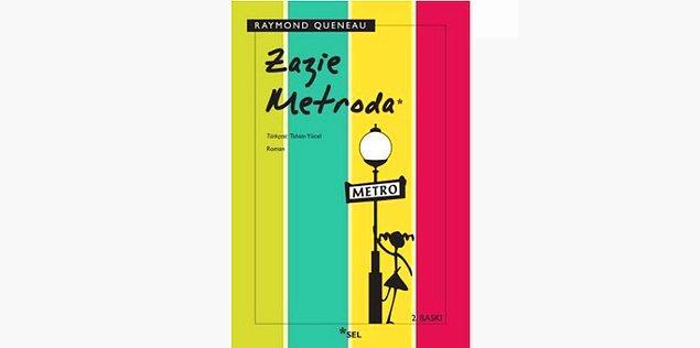 36. Zazie Metroda - Raymond Queneau (1959)