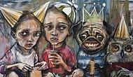 Творческий дуэт Herakut рассказывает о проблемах современного общества с помощью граффити