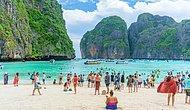 Пляж, на котором снимался одноименный фильм с Леонардо Ди Каприо, был закрыт из-за критического уровня загрязнения