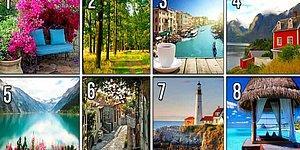 Тест: Выберите место, где бы вы хотели сейчас оказаться, чтобы узнать, чего вам не хватает в жизни