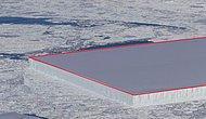 Чудо или предвестник беды? В Антарктиде найден айсберг идеальной прямоугольной формы