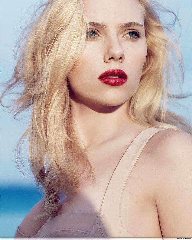 6. Scarlett Johansson'a 10 puan!