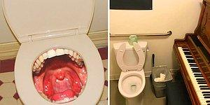 20 пугающих и странных туалетов, при виде которых вы скажете: «Спасибо, уже перехотелось»