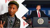 """""""Stop Playing My Music"""": Pharrell Williams Has Forbidden Donald Trump To Use His Music!"""