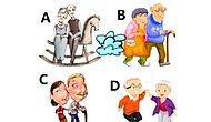 Тест: Выберите самую счастливую пожилую пару, а мы расскажем, каким будет ваше будущее
