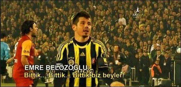 """Emre Belözoğlu: """"Bittik biz, bittik beyler!"""""""