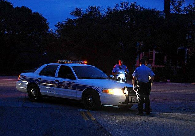 18. Polisin her zaman geç gelmesi.