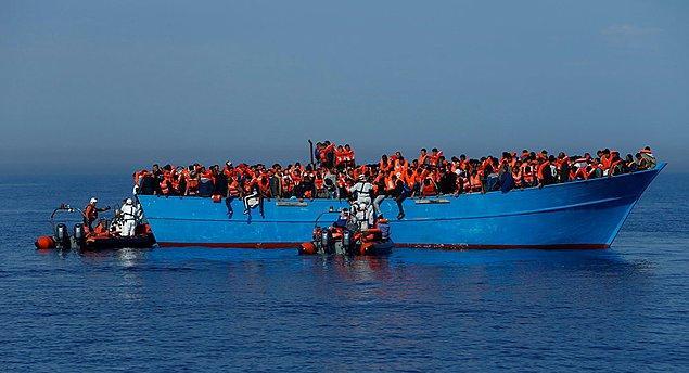 Asya ve Ortadoğu'dan göç eden 8 bin 200 kişi kayboldu ya da yolda hayatını kaybetti.