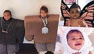 Too Cute To Be Real! The Kardashian And Jenner's Lil Babies With Their Halloween Costumes!