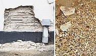 Во время реставрации здания в США из стены выпало более тысячи человеческих зубов