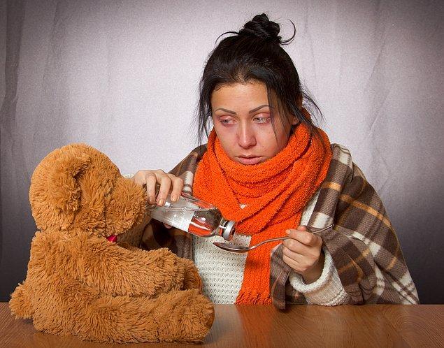 1. Soğuk algınlığı gribe evrilebilir.