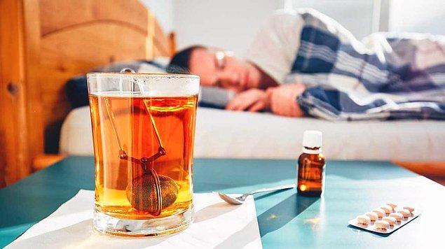 9. Soğuk algınlığı birkaç günde ilaçla tedavi edilir.