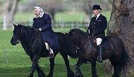 Женщина без возраста: 92-летнюю Елизавету II засняли катающейся на лошади
