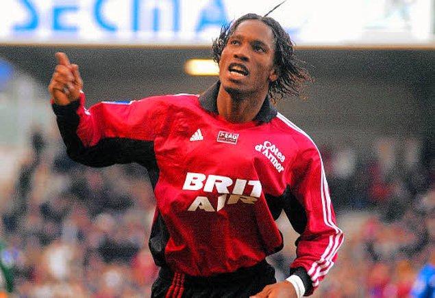4 sezonluk Le Mans kariyerinin ardından 2002 yılında Fransa 1.lig takımlarından Guingamp'a transfer olan Drogba 34 maçta attığı 17 golle kendinden söz ettirmeyi başardı.