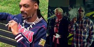 Snoop Dogg Insulted Donald Trump By Smoking Marijuana In Front Of The White House!