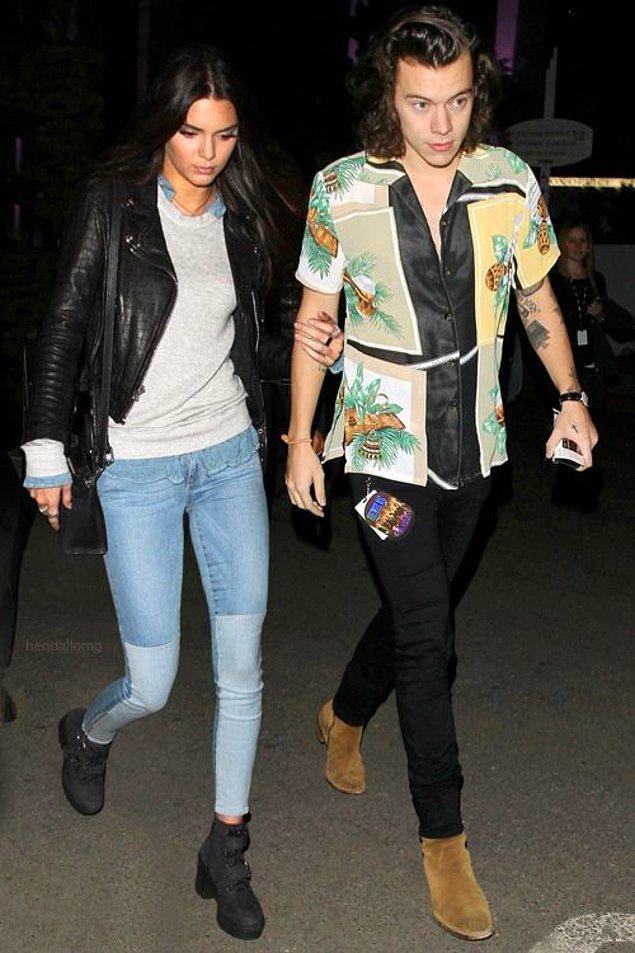 7. Kendall Jenner ve Harry Styles arasında yeniden bir şeyler başlayacak.