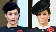 День памяти в Лондоне: Кейт Миддлтон со своим черным пальто произвела фурор