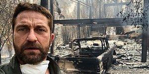 Пожары в Калифорнии: Леди Гага и Ким Кардашьян были вынуждены покинуть свои дома, а Джерард Батлер остался без крыши над головой