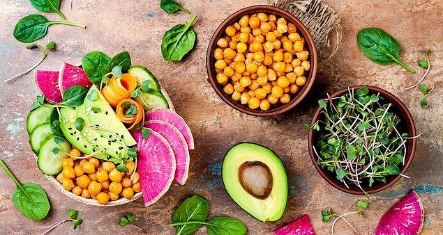3. Buna rağmen 2018'de vejetaryen ve vegan yemeklere destek arttı ve hayvansal ürün içermeyen daha fazla tarif sunulmaya başlandı.