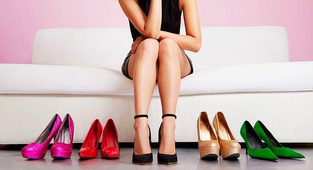 Izbor cipela sa visokim potpeticama