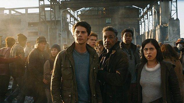 22. Labirent: Son İsyan (2018) Maze Runner: The Death Cure