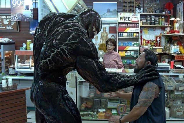 13. Venom: Zehirli Öfke (2018) Venom