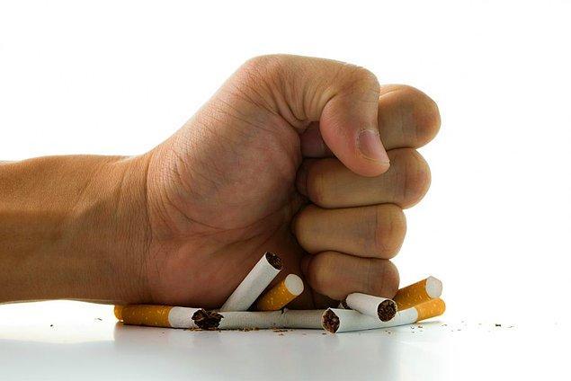 1. Sigarayı bırakın
