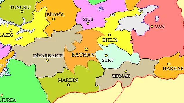 """17. Change.org'da açılan """"Batman ilinin sınırları değiştirilsin"""" kampanyası"""