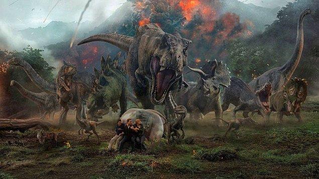 21. Jurassic World: Yıkılmış Krallık (2018) Jurassic World: Fallen Kingdom