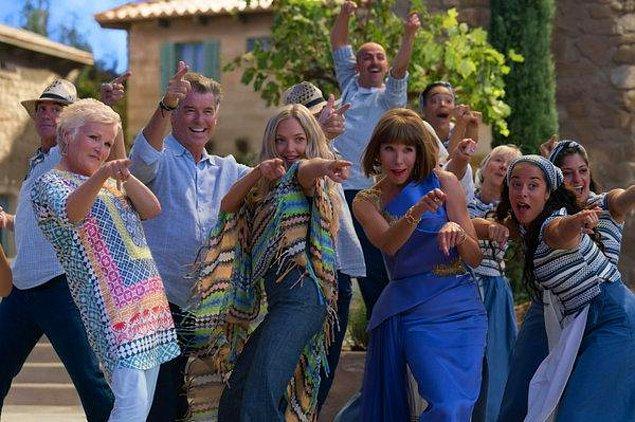 10. Mamma Mia! Yeniden Başlıyoruz (2018) Mamma Mia! Here We Go Again