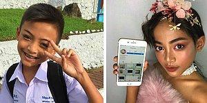12-летний мальчик стал звездой Интернета благодаря макияжу