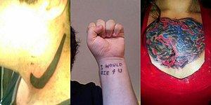 Lifetime Regret! 20+ Worst Tattoos To Make You Go 'What The The Ink?'