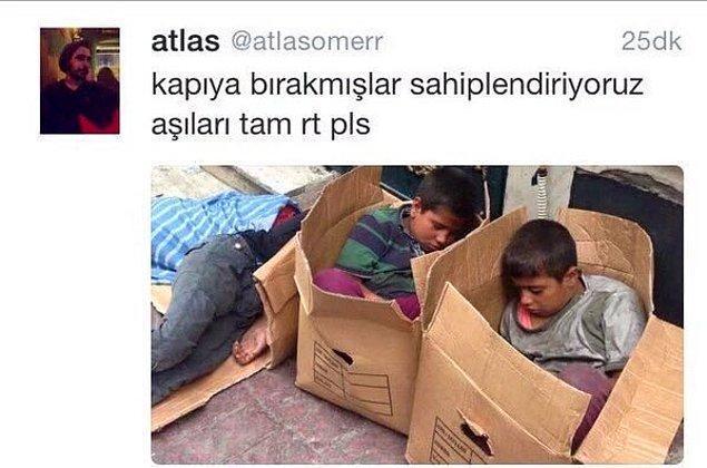 3. Türkiye'de yaşayan 23 milyon çocuktan yaklaşık olarak 2 milyonu çalıştırılırken, birçoğunun eğitim, gıda, barınma hakkı elinden alınmışken, bu yıl 62 çocuk işçi yaşamını yitirmişken yapılacak şey bu değil.
