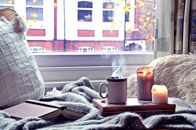 10. Pencere önünde kahve içip kitap okumak evdeki en büyük etkinliklerinden biridir. Her ne kadar bu davranışları nedeniyle yazcılar tarafından tepki görseler de umurlarında değildir...