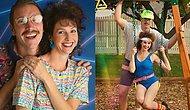 Как в 80-х : Пара решила отметить 10-летний юбилей, снявшись в странной фотосессии