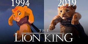 """Блогер решил сравнить новый """"Король Лев"""" 2019 года с мультфильмом 1994 года"""