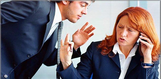 Biriyle konuşurken araya başka birinin girip konuşmanıza fırsat vermemesi.