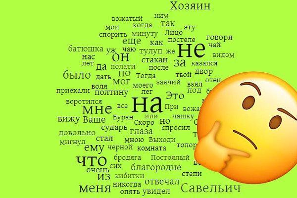 Тест: Из слов какого русского романа создано облако тегов?