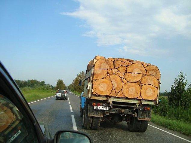 "7. ""Bu kamyoncu çok düzenli."""