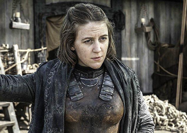 49. Yara Greyjoy karakterinin kitaplardaki ismi Asha.