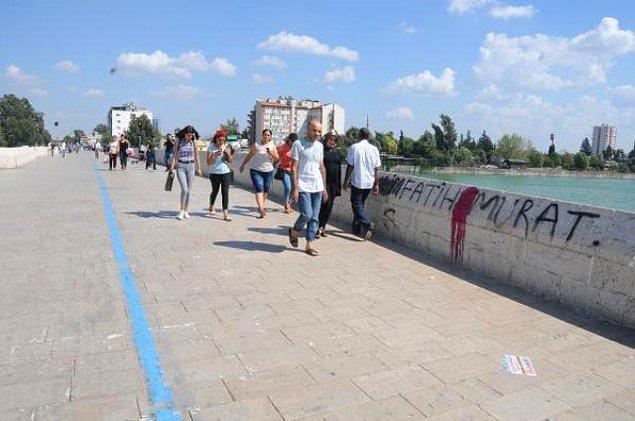 Roma İmparatorluğu döneminde 384 yılında inşa ettirilerek 'Justinian Köprüsü' adı verilen ama zaman içerisinde Taşköprü olarak bilinen bu köprü