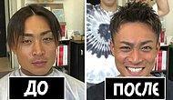 20 фото мужчин «до и после» от парикмахера-японца, доказывающие, что хорошая прическа меняет все
