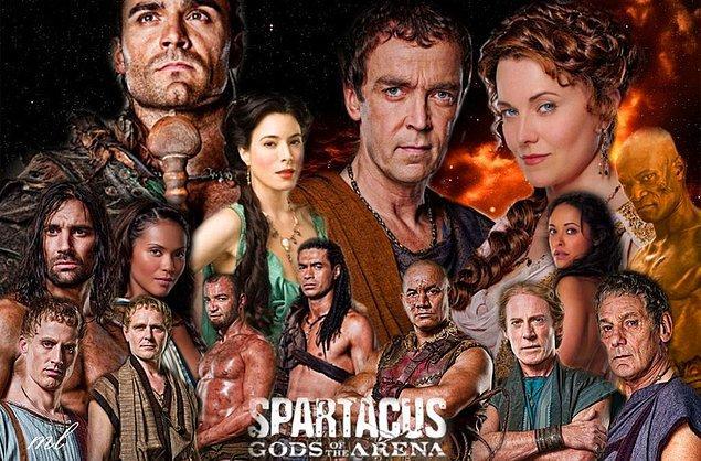 2. Spartacus: Gods of the Arena