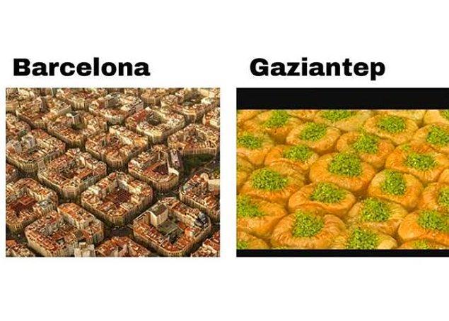 12. Biraz Barcelona olsa da yesek.