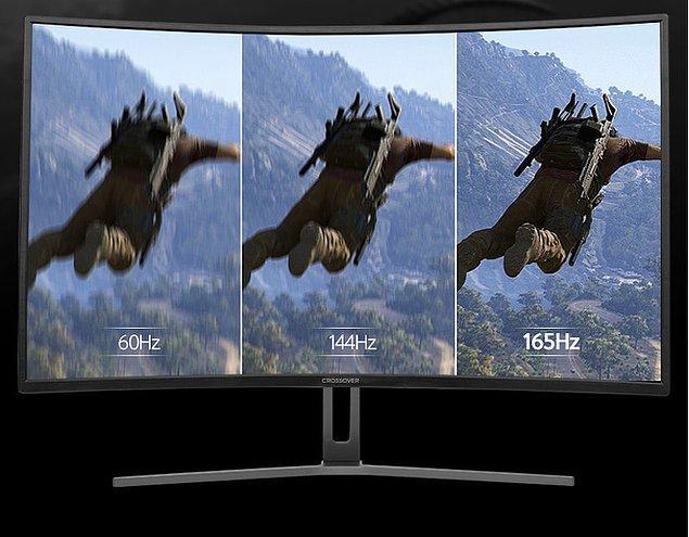 2. Ekran çözünürlüklerindeki bariz farkı yansıtan bir reklam...