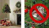 Британская компания начала выпускать елки для владельцев кошек